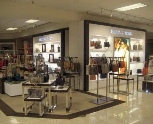 retail displays for purses